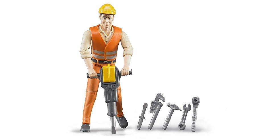 bworld, Bauarbeiter mit Zubehör