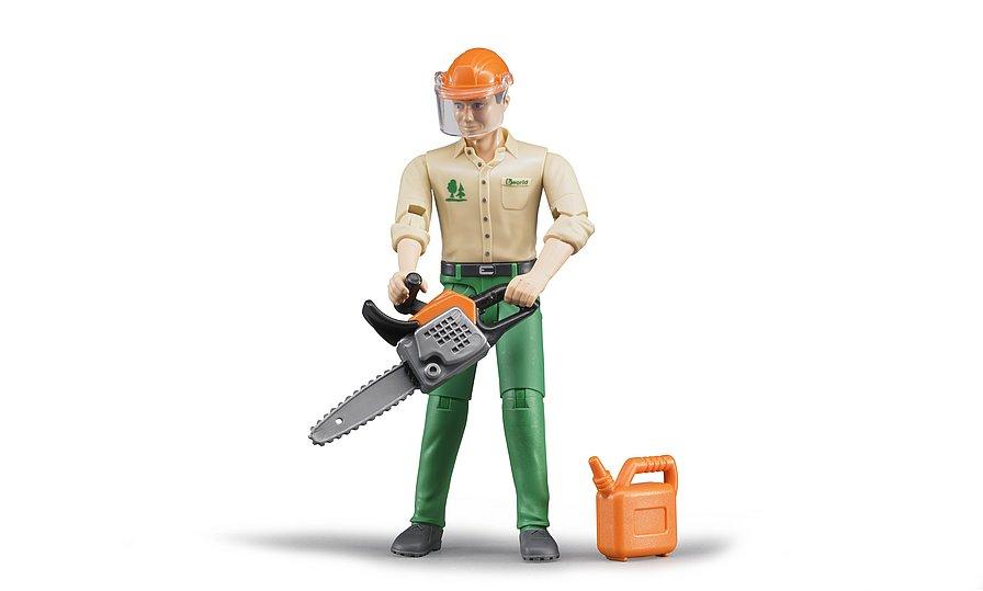 bworld, Forstarbeiter mit Zubehör